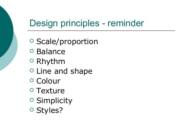 Introduction to garden planning and design session 4 for Garden design principles