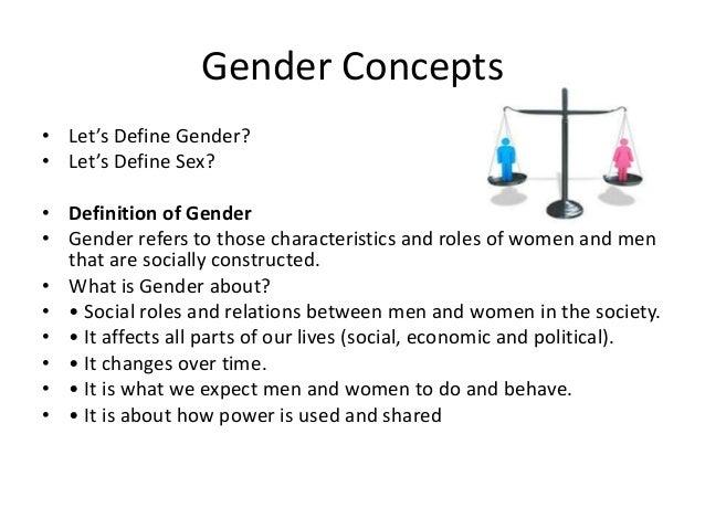 gender power definition