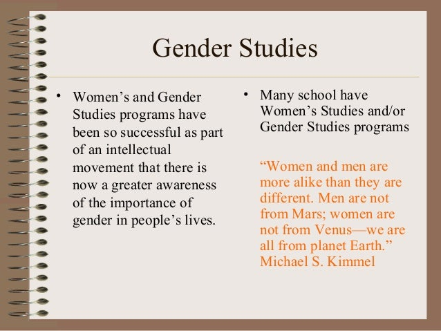 an introduction to the importance of feminism Introduction selected concepts central to gender and development thinking are  1991, third world women and the politics of feminism, bloomington, indiana.