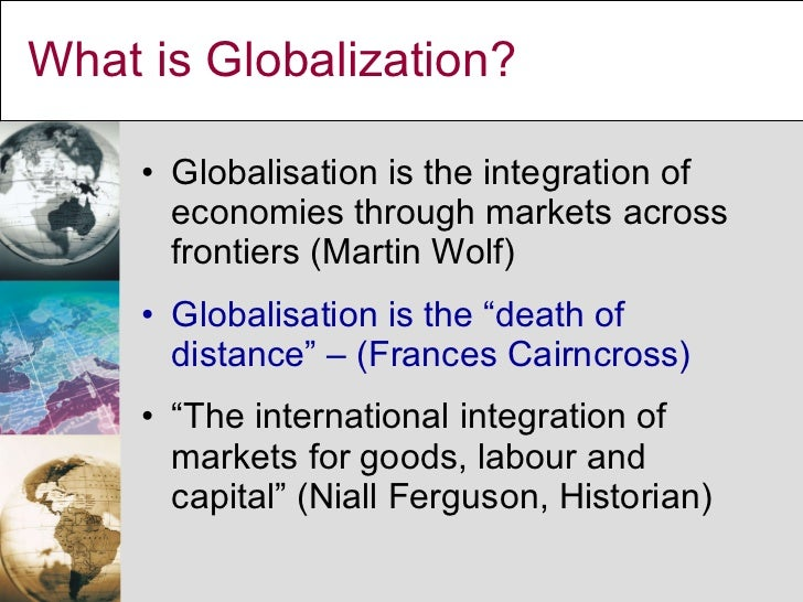 Introduction Globalization