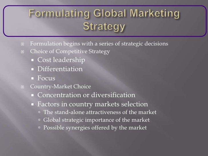 global strategic planning This is a three-day core module of the global leader program which can also  it  focuses on the fundamental issues in strategy planning and will give you the.