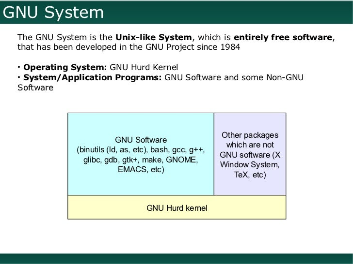 Introduction to GNU/Linux, Free Software, Open Source Software, FSF, …