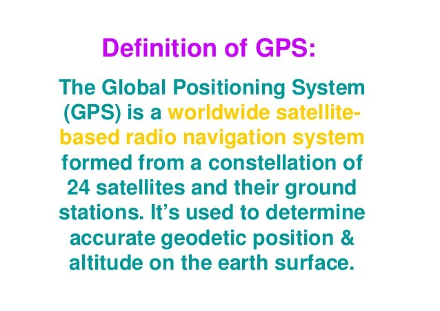 Introduction to gps [compatibility mode]