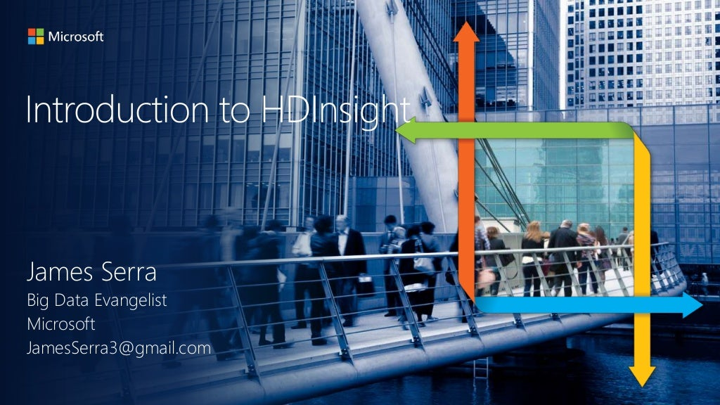Introduction to Microsoft's Hadoop solution (HDInsight)