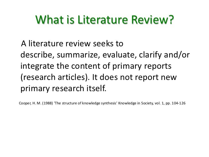 Hire The Most Qualified Literature Review Writing Services And Watch ...
