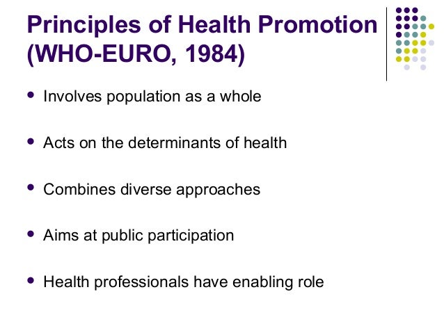"""an introduction to the history of the ottawa charter for health promotion Recent health promotion  outline• introduction• history• discussion on  canada 1986 resulted in the """"ottawa charter for health promotion."""