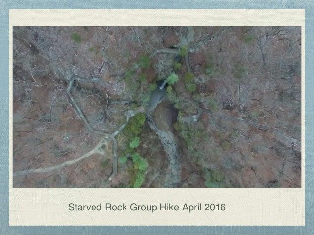 Starved Rock Group Hike April 2016