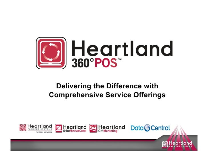 Delivering the Difference with Comprehensive Service Offerings