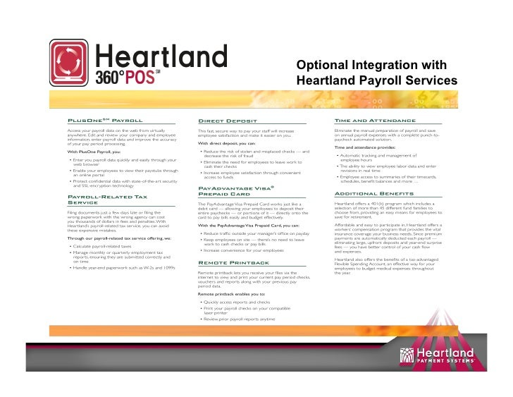 Payroll Services Heartland Payroll Services
