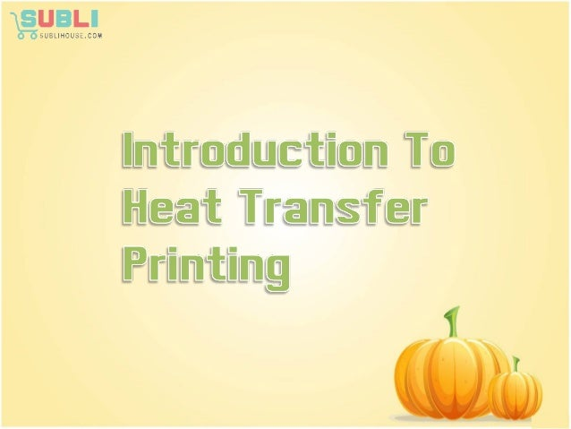 Heat transfer printing, which is also called ' Sublimation Transfer Printing ' is a method of printing which transfers the...
