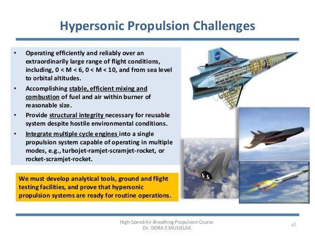 Introduction to high speed propulsion musielak