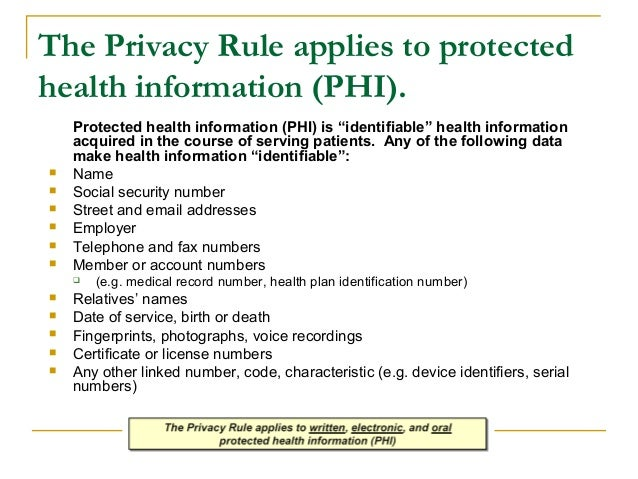 introduction-to-hipaa-for-healthcare-professionals-by-oup-10-638 Visual Protected Health Information Examples on information technology examples, protected patient information clip art, target market examples,