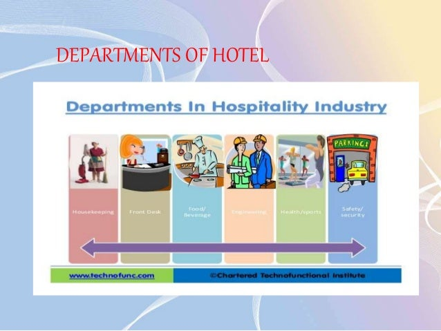 hotel departments Changes in revpar and revpar penetration receive a lot of attention however, it is the ability of managers to control expenses that influences this department's impact on profitability.