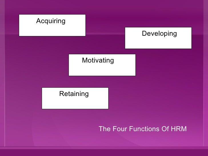 hrm introduction Definition of human resource management (hrm): the process of hiring and developing employees so that they become more valuable to the organization.