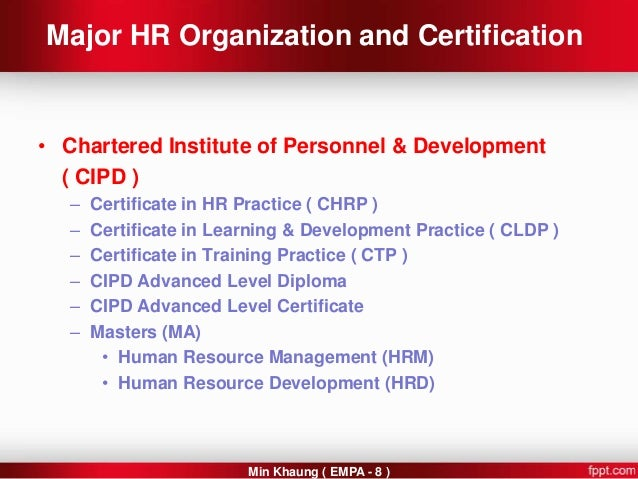 using information in human resources cipd Cipd intermediate award – using information in hr (5uin) watson martin partnership cipd advanced human resource development qualifications.