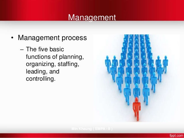 explain how the management practices of planning leading organizing staffing and controlling are imp A whole system of people in the organization support employees in making this transition from the highest levels of leadership to frontline supervisors, managing change well relies on a coordination of actors all moving in unison and fulfilling unique roles this article examines the five key roles in change management.