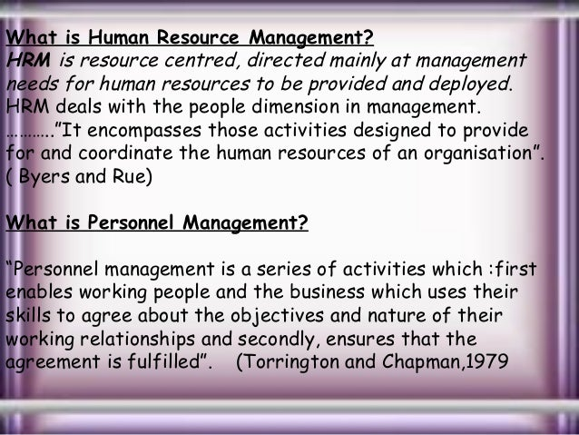 central function of hrm Value-adding function,  future hrm challenges in eastern and central europe  this article assesses the nature of human resource management.