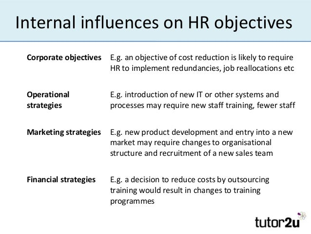 introduction to hr objectives  u0026 strategies
