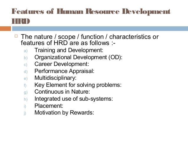 Introduction to human development