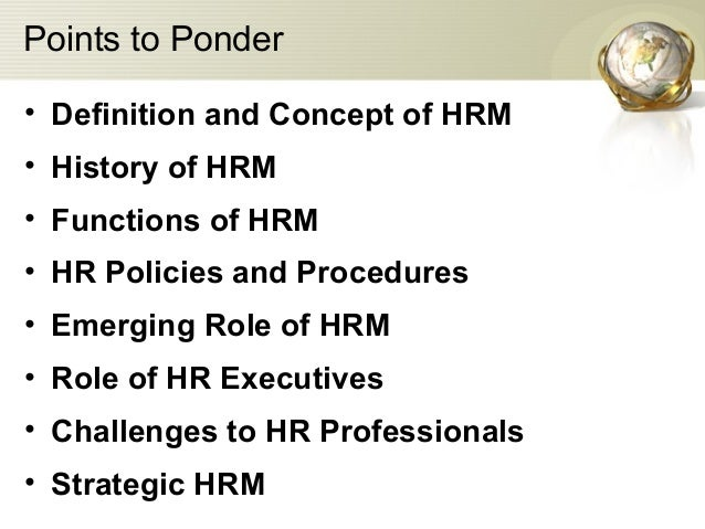 human resource management hrm paper Hrmajor a major in human resource management must include eight papers:  mant101 managing for performance mant250 managing people mant251.
