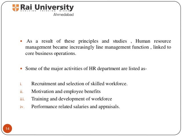 a personal philosophy of human resource management Perspectives of human resource management in recruiting companions and exposition of an underlying philosophy [1] human resource management.