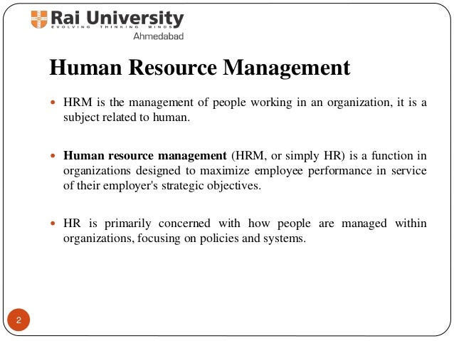 philosophy of human resource management Theoretical perspectives for strategic human  managing two fits of strategic human resource management  theoretical perspectives for strategic human resource.