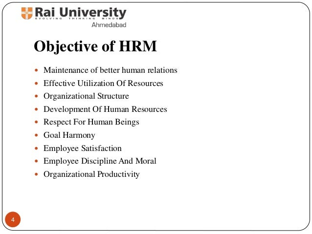 Introduction To Human Resource Management Evolution