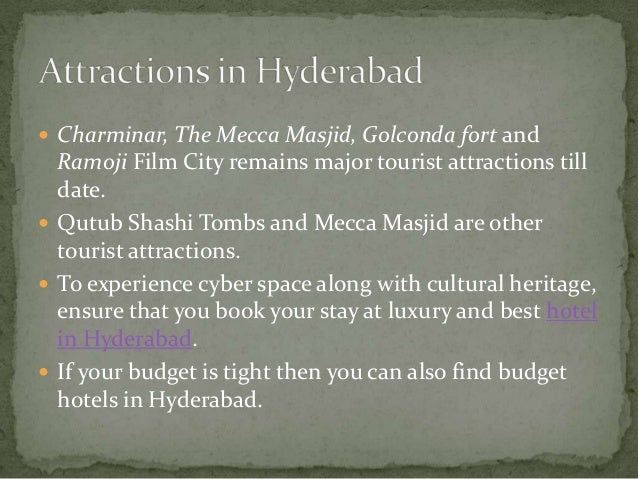 Most-booked hotels in Hyderabad in the past month