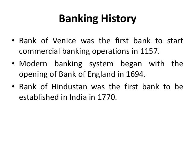 an introduction to the history of german banking system The history of banking began with the first in the southern german realm, two great banking families and with the introduction of the bretton woods system in.