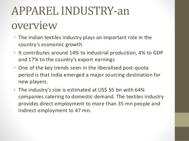 garment industry introduction to garment manufacturing