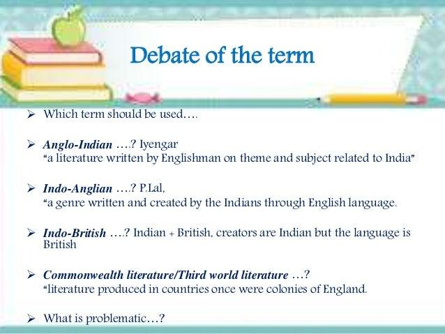 indo english literature