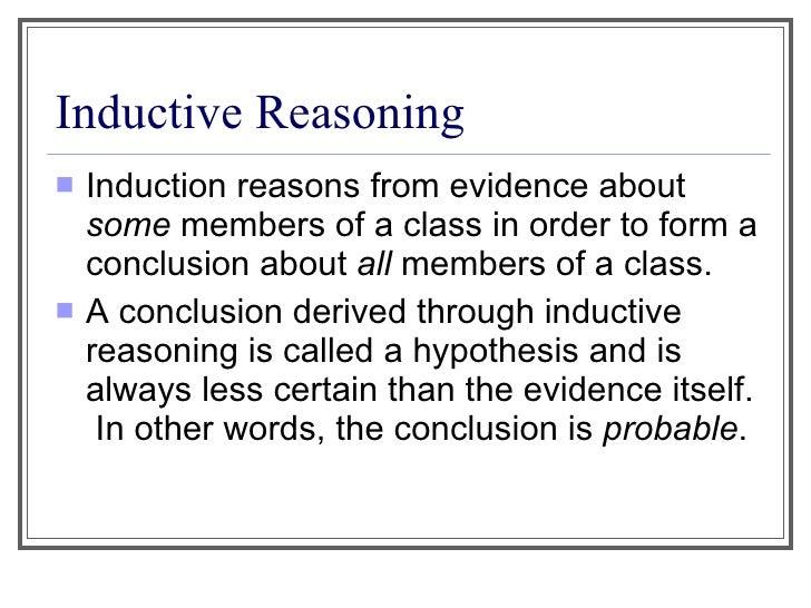 inductive paragraph