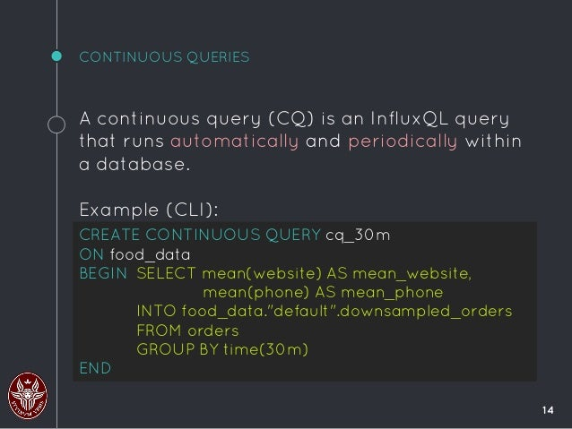 Introduction to influx db