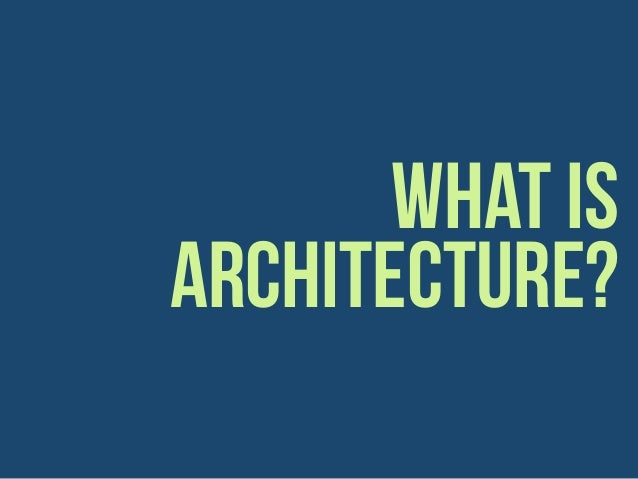 Introduction to Information Architecture Slide 3
