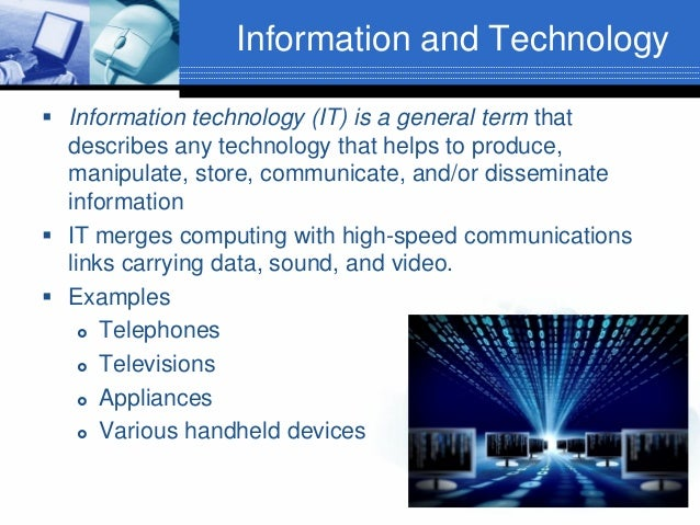 information technology introduction essay We have hundreds of free information technology essays, free to view, print and download without registration.