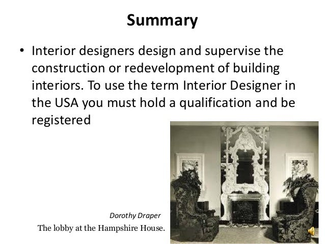 Professional Interior Designers 4 Dorothy Draper 5