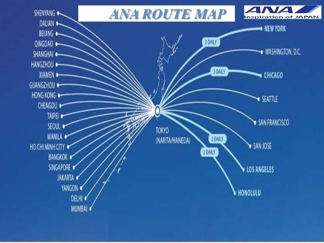 Ana Route Map international airlines