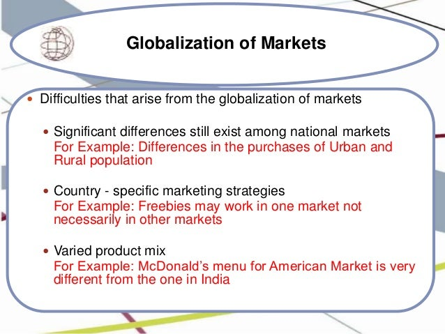 The Concepts Of Globalization And International Marketing ...