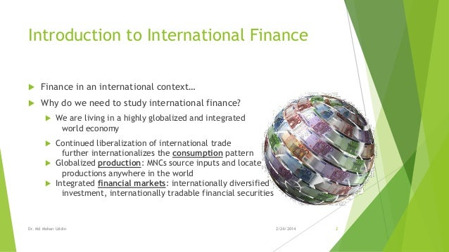 international finance paper View notes - fin 419 week 5 team assignment- international finance paper from fin 419 at university of phoenix international finance paper week 5: international finance - wal-mart as far as.