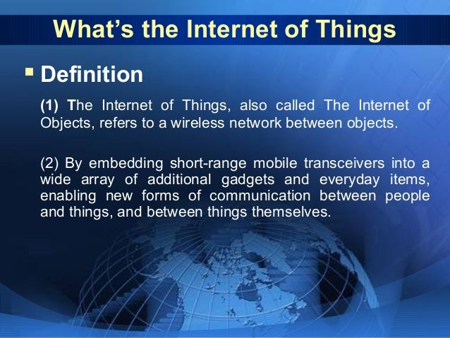 Significance of internet
