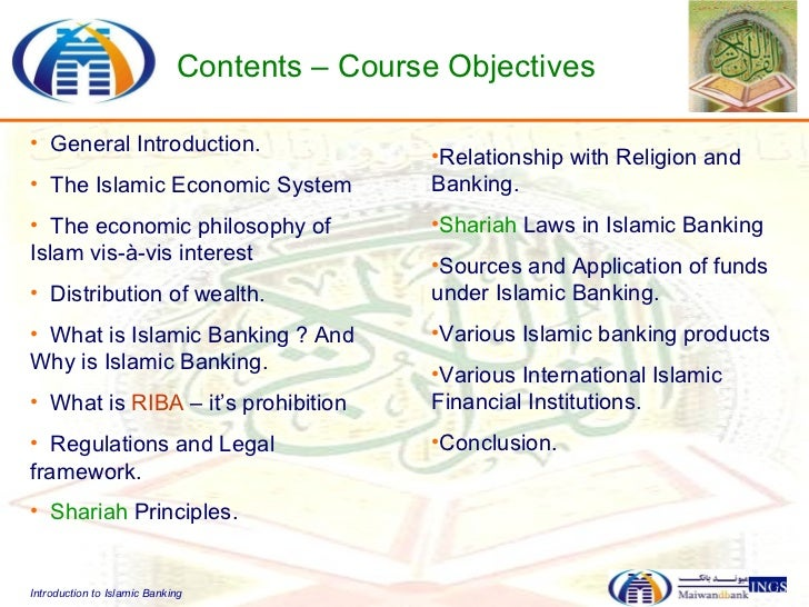 introduction to islamic banking system Leading islamic banks have fast spread their network from home base to   sbp's financial sector strategy was the introduction of islamic.