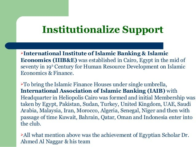 islamic economics and finance system Bin hayat has also served as a financial officer for more than 25 years and has graduate degrees in economics, islamic  economics/finance islamic  system view.