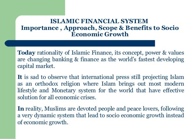 what is islamic economic What is wrong with islamic economics: analysing the present state and future agenda (studies in islamic finance, accounting and governance series): 9781782544142: economics books @ amazoncom.