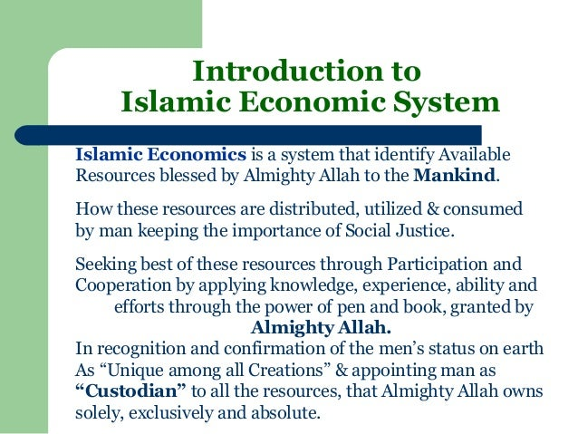 how islamic economic models contribute to Proposal for a new economic framework based on islamic principles contribute in the field of islamic economic and ideas into practicable models for the.