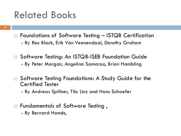 Foundations of Software Testing ISTQB Certification by Dorothy Graham
