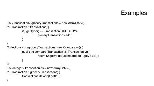 Introduction to java 8 stream api