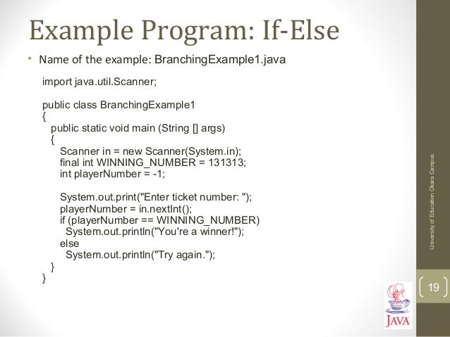 Introduction to java programming part 2