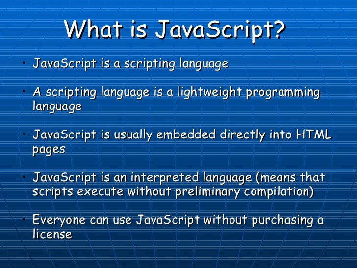 a report of java script Learn about javascript and how is it different from java technology includes cause of the error contact the webmaster of that site to report the error including.