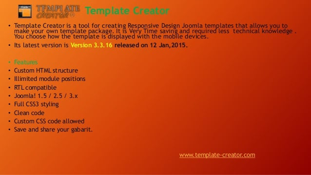 introduction to joomla top 5 joomla template generator