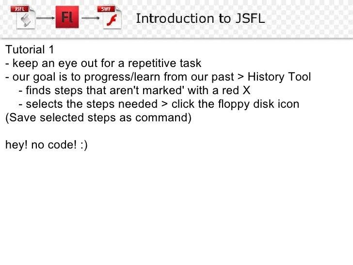 Jsfl Tutorial Pdf